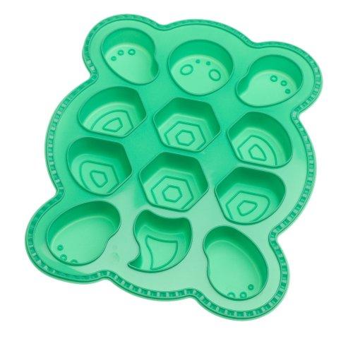 (Roshco Create and Celebrate Turtle Pull-Apart-Cupcake Silicone Baking)