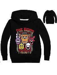 Boys Five Nights at Freddy's Thin Cotton Hoodie Sweatshirt