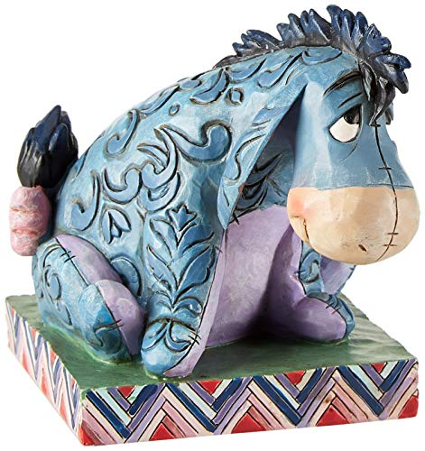 Disney Traditions by Jim Shore 4011755 Eeyore Personality Pose Figurine 3-1/2-Inch