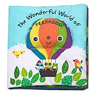 Melissa & Doug The Wonderful World of Peekaboo Activity Book