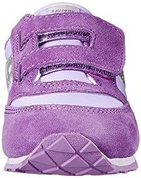 Saucony Jazz Hook and Loop Sneaker (Toddler/Little Kid),Purple/Violet,7.5 M US Toddler