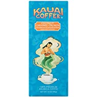 Kauai Ground Coffee, Coconut Caramel Crunch–100% Premium Arabica Coffee from Hawaii's Largest Coffee Grower-Tropical Coconut and Sweet Nutty Caramel Flavors with Medium-Roasted Beans (10 Ounces)