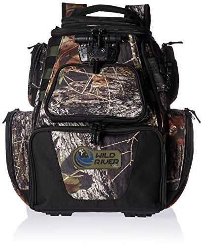 084298636042 - Wild River Tackle Tek Nomad Mossy Oak Camo LED Lighted Backpack, Fishing Bag, Hunting Backpack carousel main 0