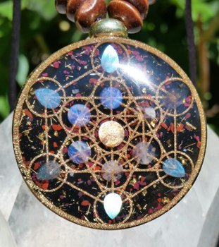 Amazon metatron cube orgonite pendant by orgonix23 metatron cube orgonite pendant by orgonix23 aloadofball Choice Image