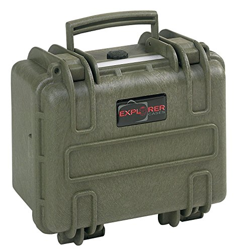 Explorer Cases 2717 G Waterproof Dustproof Multi-Purpose Protective Case with Foam, Military Green by Explorer Cases