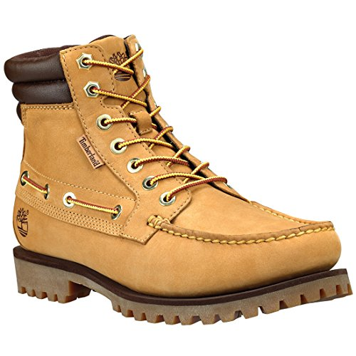 Timberland Men's Oakwell 7-Eye Lace-Up Boot,Wheat,11.5 M US