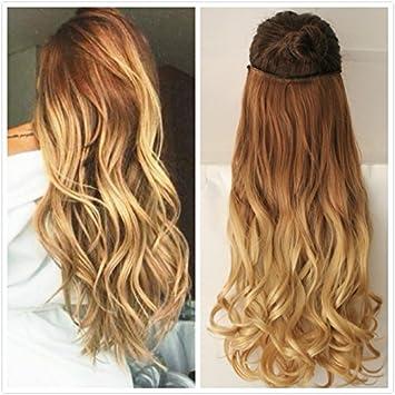 Devalook Haarverlängerung Wavycurly Light Brown To Sandy Blonde
