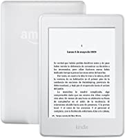 Kindle Paperwhite, pantalla E-ink de alta resolución, luz integrada, color Blanco, Wi-Fi