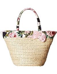 Kids Womens Straw Bag