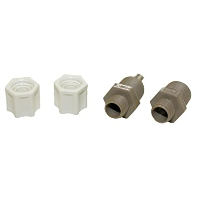Hayward CLX220EA CL 200 Series Pool Chemical Feeder Check Valve and Inlet Fitting Adapter Assembly: Garden & Outdoor