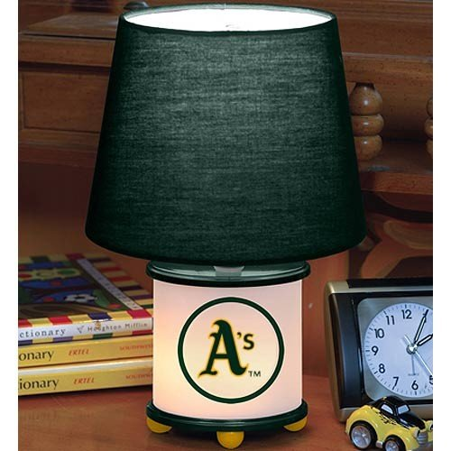 (Oakland Athletics Dual-Lit Accent Lamp )
