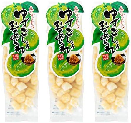 お菓子 柚子こしょう 玉あられ 90g×3袋 木村