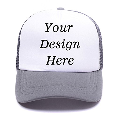 Custom Hats - Design Your Personalized Photo or Text To our Classic Trucker Hat Unisex Adjustable Baseball Cap - Personalized Hats