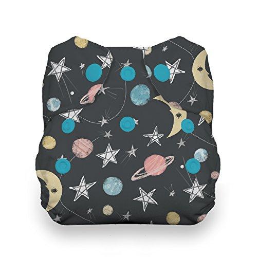 - Thirsties Newborn All in One Cloth Diaper, Snap Closure, Stargazer