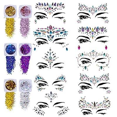 Face Gems Glitter 10
