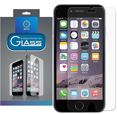 iPhone 6S Screen Protector, Nozza iPhone 6 6S Ballistic Glass Screen Protector (4.7 inch ONLY) [Tempered Glass] 0.2mm Screen Case Protection 99% Touch-screen Accurate Fit (Lifetime Warranty)