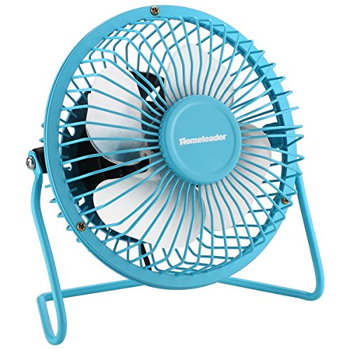USB Fan Portable Mini Fan (Blue) - 2