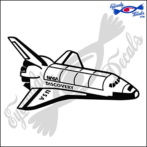 Amazon Eyecandy Decals Space Shuttle Discovery 6 Decal Black Vans Rv Art: Ford Wiring Harness For Vans At Teydeco.co