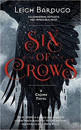 Image result for six of crows uk cover