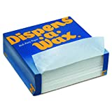 Dispens-A-Wax 512 Deli Patty Paper, 5.5'' Length x 5.5'' Width, White (24 Packs of 1000)