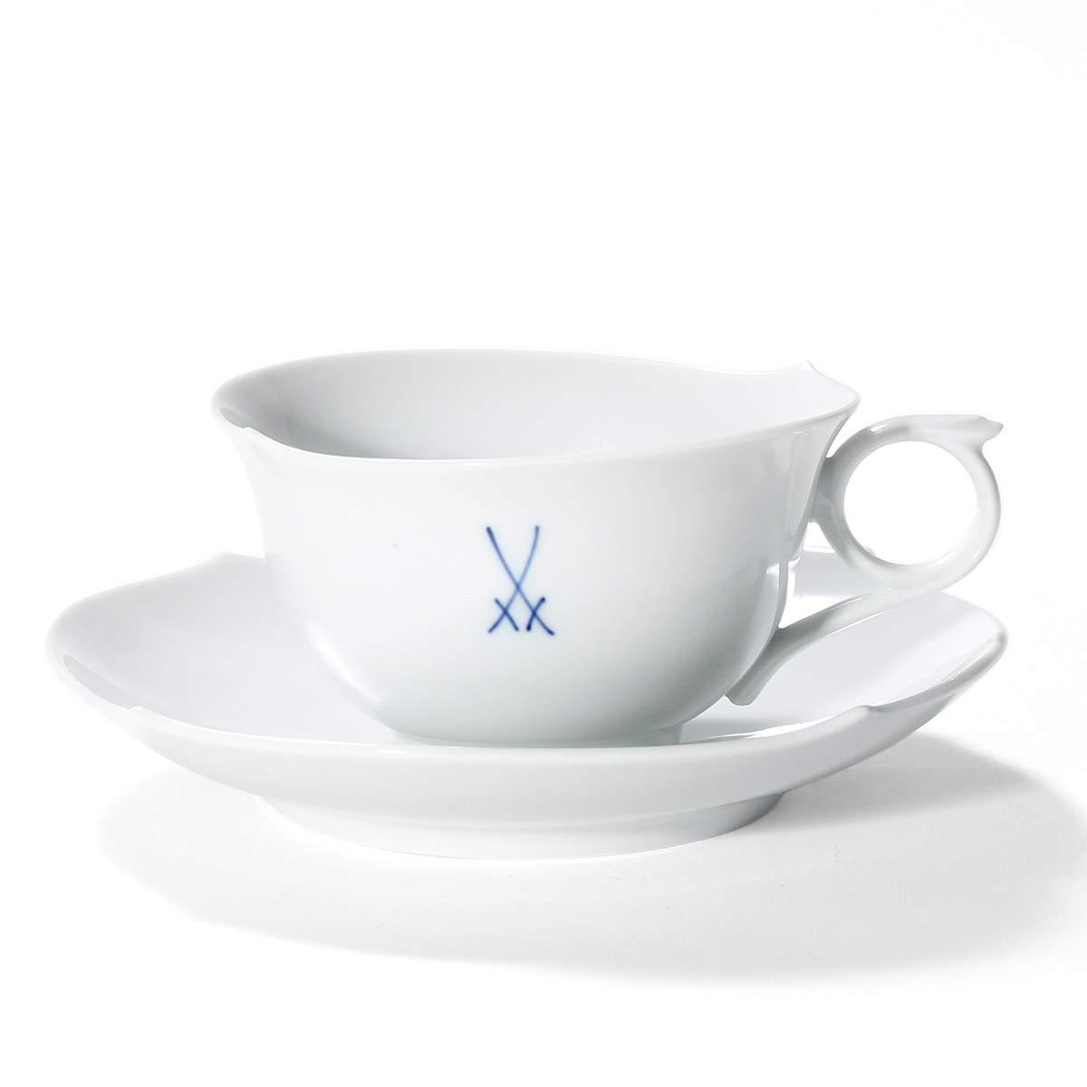 マイセン(Meissen) 剣マーク コレクション ティーカップ&ソーサー B07NRSD7W9