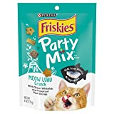 Purina Friskies Party Mix Meow Luau Crunch Adult Cat Treats - (7) 6 Oz. Pouches