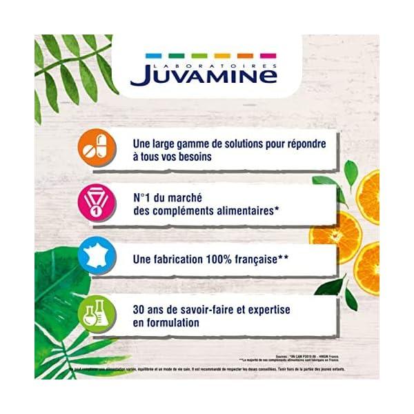 JUVAMINE – Vitamine D3, Immunité & Capital Osseux, Vitamine D3 issue du Lichen des Rennes, 30 gélules