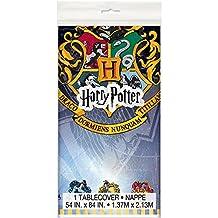 "Harry Potter Plastic Tablecloth, 84"" x 54"""