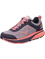MBT Womens Colorado 17 Grey/Neon Peach Synthetic/Mesh