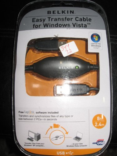 (EASY TRANSFER CABLE FOR WINDOWS VISTA 8FT 2.4M USB CERTIFIED FOR WINDOWS VISTA )