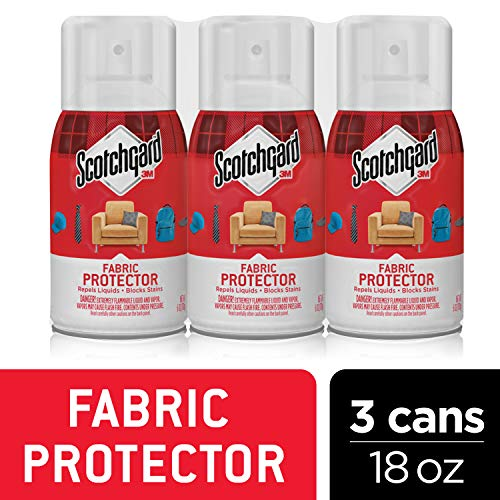 Scotchgard Fabric & Upholstery Protector, 3 Cans/6 Ounces per Can (18 Ounces Total) Dry Clean Silk Tie
