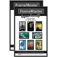 FrameMaster Poster Frames 24 x 36 Inch, Sturdy, Pre-Assembled, Black by FrameMaster