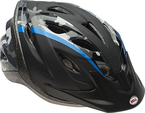 Bell Youth Axle Helmet, Camo Blue