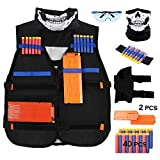 Udoop Tactical Vest Kits for Nerf Guns N-Strike Elite Series Nerf Vest for Boys Blaster Game Play...