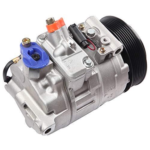 (OCPTY CO 10808JC A/C Compressor Clutch Assembly Compatible for Mercedes-Benz E350 Porsche 911 Boxster Cayman)