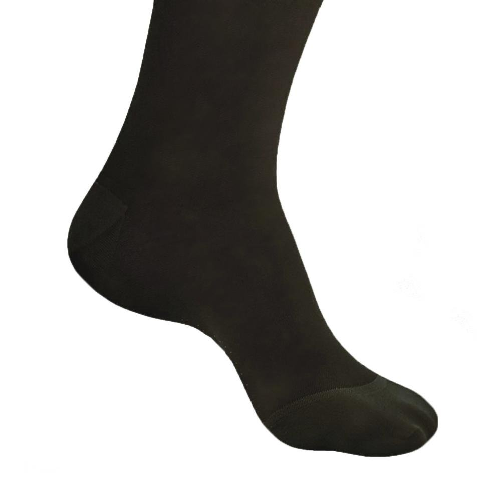 b86cb7be77 Amazon.com: Ames Walker Women's AW Style 33 Sheer Support Closed Toe  Compression Pantyhose - 20-30 mmHg Black Small 33-S-BLACK Nylon/Spandex:  Health .