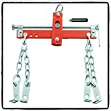 Engine Load Leveler Heavy Duty Crank Car Hoist Mount 4 Hooks 3/4 Ton 1500lb Capacity - House Deals