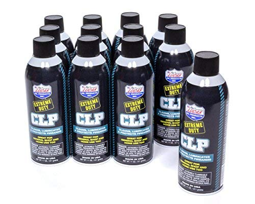 Lucas Oil 10916-12 1 Pack Extreme Duty CLP Aerosol Case (12 x 11 Ounce)