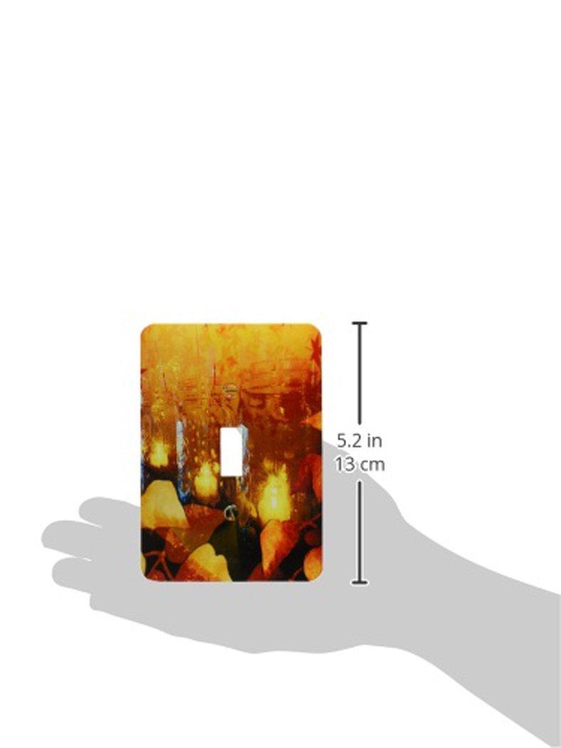 3dRose lsp/_172021/_1 Mason Jars Collage Toggle Switch