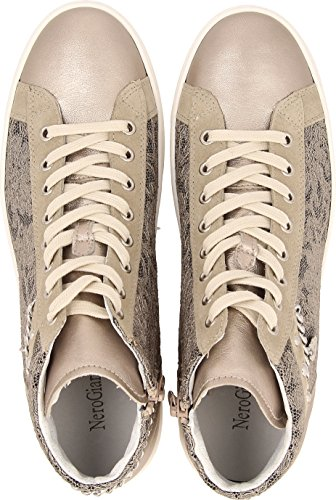 Giardini Donna Bronzo Sneakers Nero OXIGEN Scarpa 805082 dqw6nP