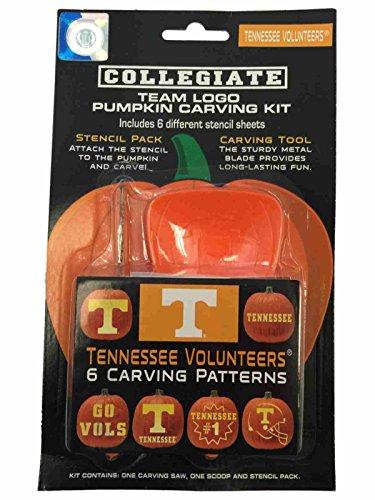 Tennessee Volunteers NCAA Topperscot Team Logo Halloween Pumpkin