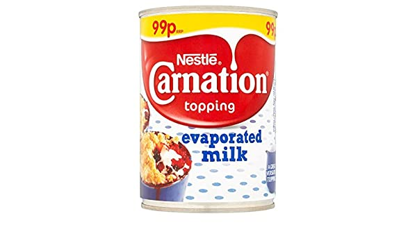 Carnation Topping leche evaporada 410g (paquete de 12 x 410g): Amazon.es: Alimentación y bebidas