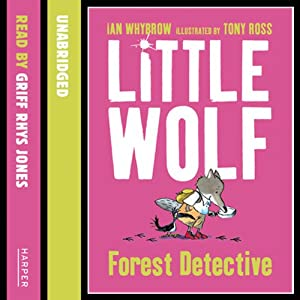 Little Wolf, Forest Detective Audiobook