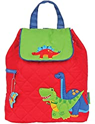 Stephen Joseph Boys Quilted Dinosaur Backpack - Toddler Preschool Bags