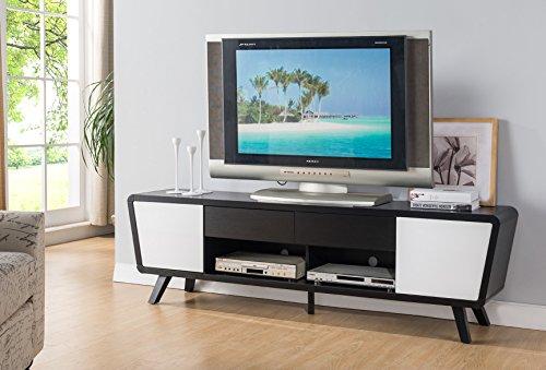 Smart home 151365 74 Alexa Contemporary TV Stand up to 75 TV