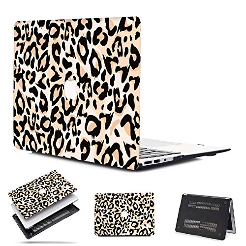 PapyHall Plastic Shell Cover Only Compatible 2012/2013/2014/2015 Release MacBook Pro 15 inch Retina Display (No CD-ROM/Touch) Model: A1398 Leopard Khaki
