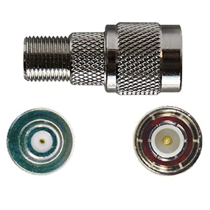 Amazon.com: Wilson 971129 F-Female Barrel Connector for RG6 Coax Cable 801265 841262 841263: Cell Phones & Accessories