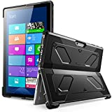 The New Surface Pro 2017 Case, [Heavy Duty] i-Blason Armorbox Dual Layer Hybrid Full-body Protective Kickstand Case Compatible With Microsoft Surface Pro 4 2016 [NO BUILT IN SCREEN PROTECTOR] (Black)