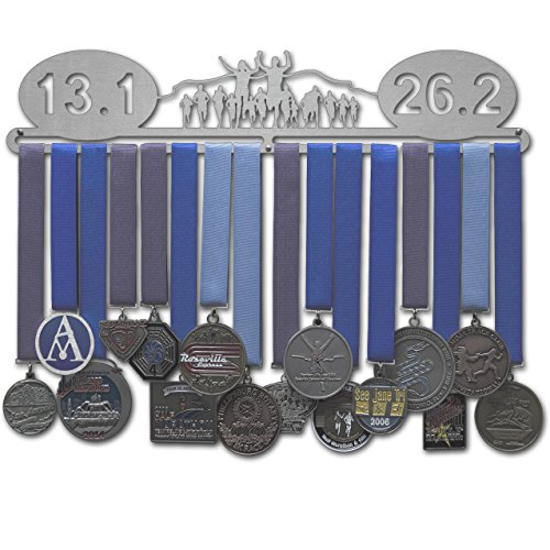Allied Medal Hanger - 13.1/26.2 with Runners - 18'' Wide by Allied Medal Hangers
