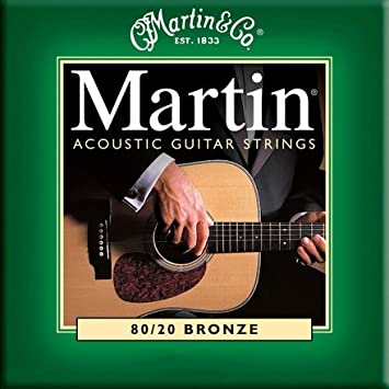 Martin 92/8 Acoustic Guitar Strings - Phosphor Bronze Wound (Custom/Light.011 - .052) M535